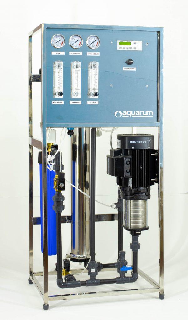Система обратного осмоса AMRO-250LSS рама нерж. сталь производительностью 250 л/час
