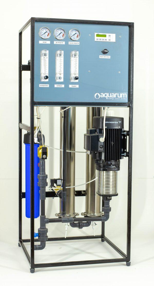 Система обратного осмоса AMRO-500L производительностью 500 л/час