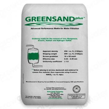 Фильтрующий материал Greensand Plus.