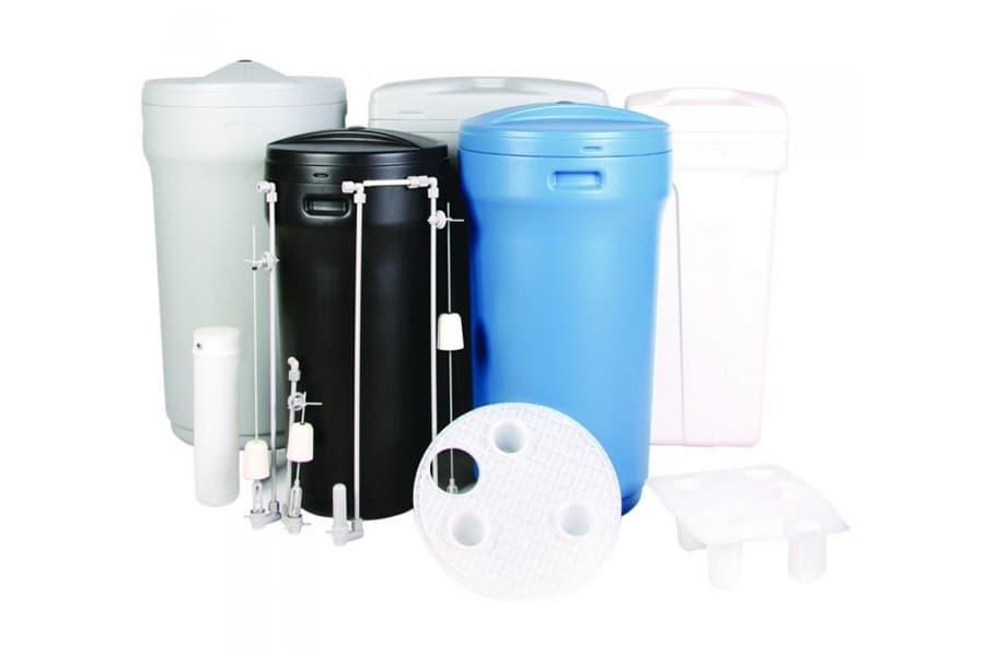 Вода из солевого бака не поступает на фильтрацию.