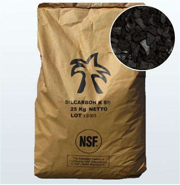 Silcarbon кокосовый активированный уголь К835.